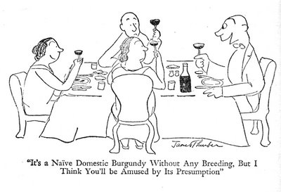 James Thurbers cartoon sums things up nicely